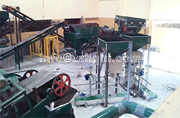Kenya Organic Fertilizer Production Line Installation Site