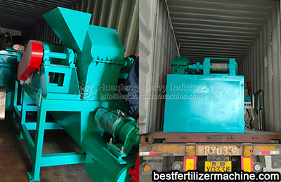 Small NPK pelletizing production line sent to Indonesia
