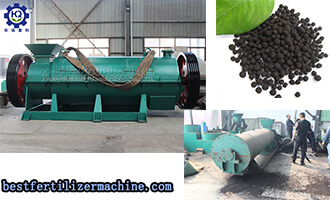 High-yield Bio-organic Fertilizer Production Line From Pig Manure