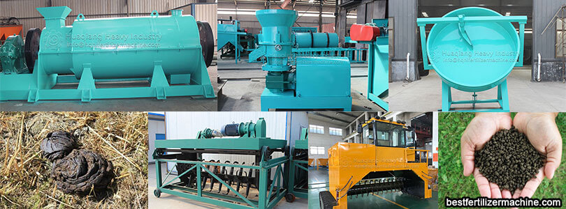 cow dung organic fertilizer production line