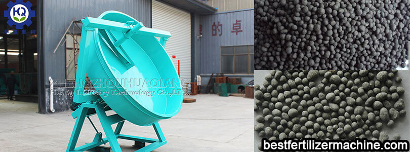 disc granulator can be used in organic fertilizer production line
