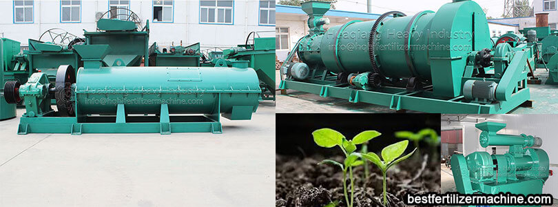 fertilizer granulator machine operation