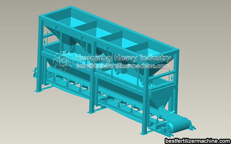fertilizer batching equipment