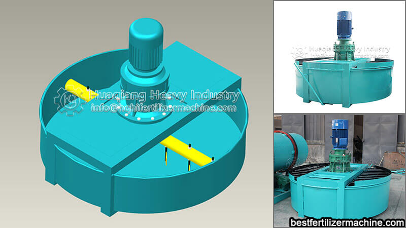 fertilizer production line mixer