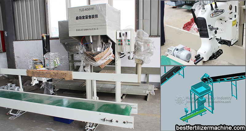 fertilizer production line packaging machine