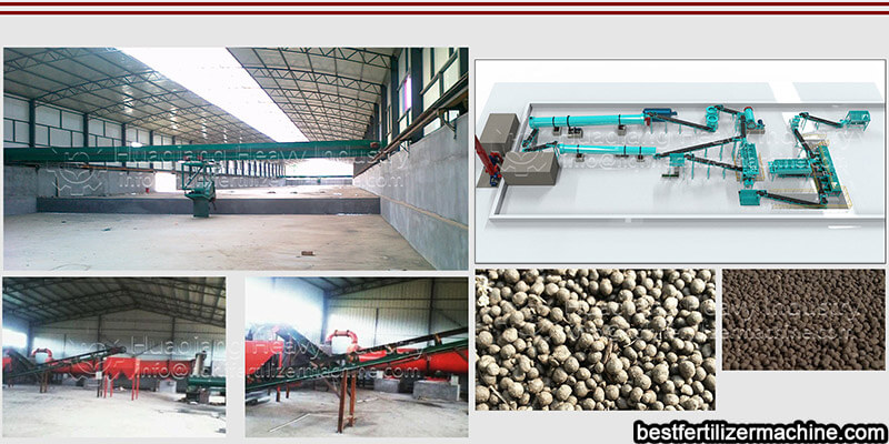 fertilizer production line project
