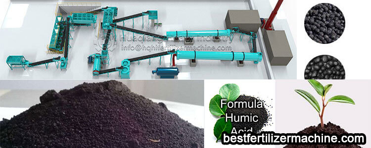 organic fertilizer granulator production line