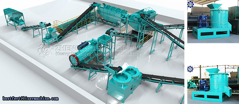 half-wet-crusher-machine-of-npk-fertilizer-production-line