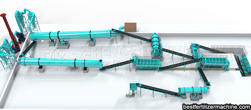 bio-organic fertilizer making machine