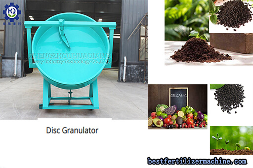 5 Tons/h Organic Fertilizer Disc Granulation Production Line with High Quality and Speed